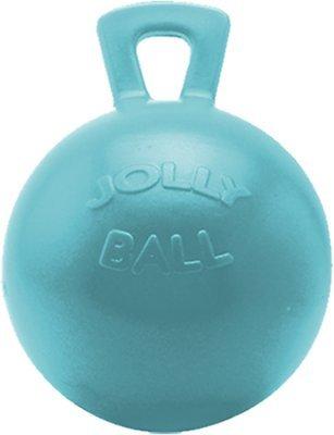 Horsemen's Pride Jolly Ball Horse Toy, Blueberry, 10-inch