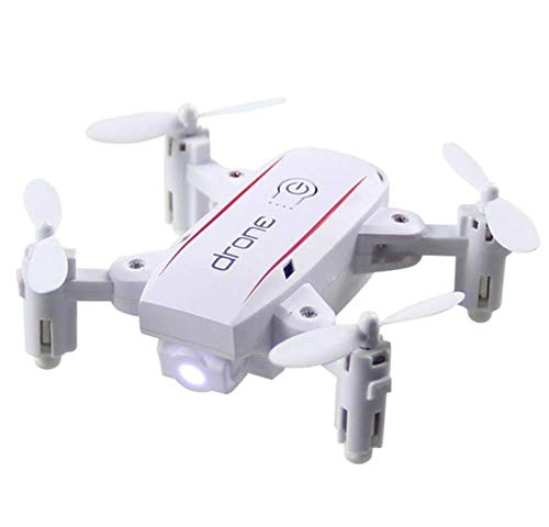 FODUIV Mini 4 Assi 2.4GHz 4CH Drone New Sky Beginning Ability Stable Gimbal Gift Pieghevole Hover Outdoor Performance Aircraft Bianco