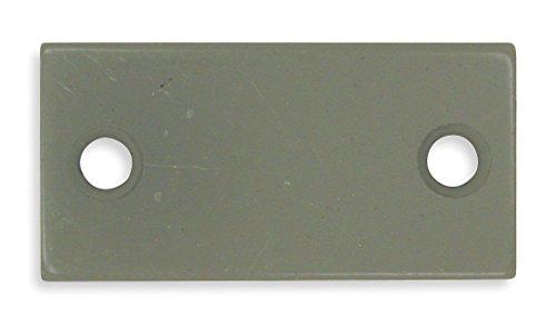 (Filler Plate, Strike, Gray, L 2 1/4 in)