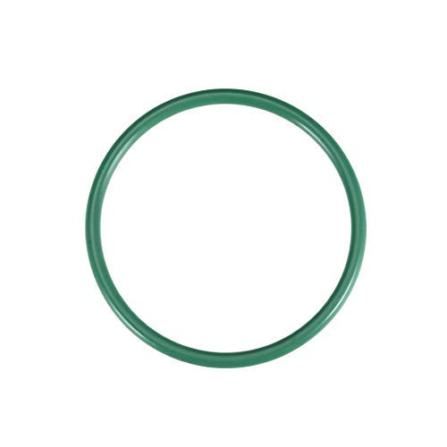 Green Seal 5 Pieces Odor Rings of Fluorine Rubber Outer Diameter 45 mm Width 3.5 mm Internal Diameter 38 mm