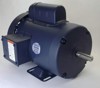 1/2 hp 1725 RPM 48 Frame TEFC 115/208-230 Volts Leeson Electric Motor # 100956