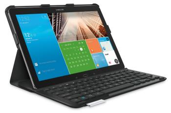 Laptop-like typing in a slim protective case