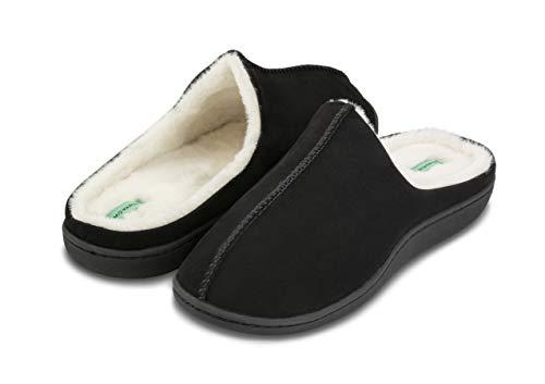 Mio Marino Mens Slippers - Memory Foam - House Slippers for Men