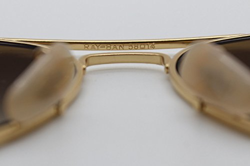 73f8ab1dc6 Ray Ban Aviator Titanium Gold Polarized Brown Gradient Rb 8041 001 ...
