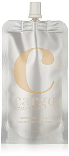 Cargo Cosmetics - Oil-free Longwear Foundation, Medium to Full Natural Coverage Liquid Foundation, F-10
