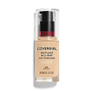COVERGIRL Outlast Stay Fabulous 3-in-1 All Day Foundation Buff Beige,  (30 ml)
