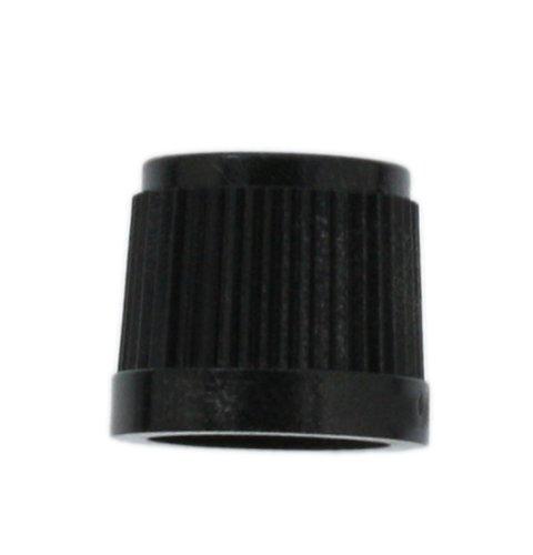 Shaft Knob (Leviton 6120-PRT To Fit D Shaft, 10-Pack, Knob Plain Black)
