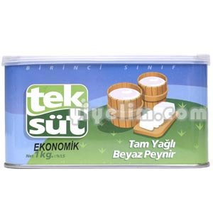 Teksut Full Fat White Cheese (First Class) 1 Kg