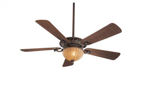 Minka Gold Ceiling Fan - Minka-Aire F702-BCW, Volterra,  52