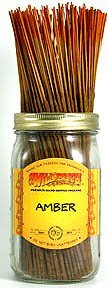 - Amber - 100 Wildberry Incense Sticks