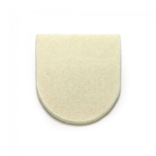100 Felt Heel Cushion/Lifts for Shoes and Boots, 1/4'', Adhesive Backing