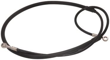 Galfer Front Steel Braided Brake Line Standard Length Black for Yamaha YZ400F 1998-1999