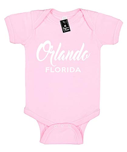 Signature Depot Infant Funny Baby Onesie Unisex T-Shirt Size 6 (Orlando Florida (City State)