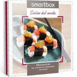Cofanetto regalo Smartbox Cucine dal mondo: Amazon.it: Sport ...