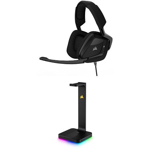 31uyeVlPmbL - CORSAIR-VOID-PRO-SURROUND-Gaming-Headset-Dolby-71-Surround-Sound-for-PC-Carbon-RGB-Headset-Stand
