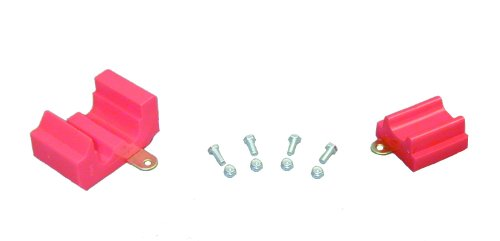 Prothane 7-1609 Red Differential to Transmission Torque Arm Kit