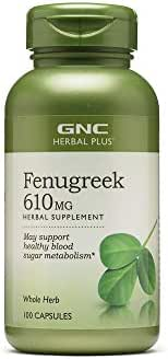 GNC Herbal Plus Fenugreek 610mg 100 caps