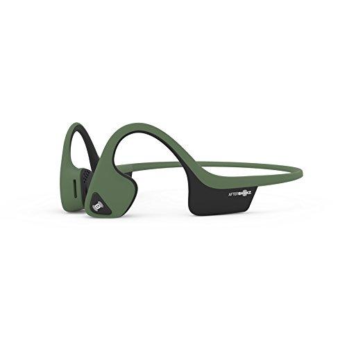 AfterShokz Air Open Ear Wireless Bone Conduction Headphones, Forest Green, AS650FG