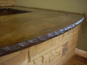 Concrete Countertop Edge Form - Standard Split Stone