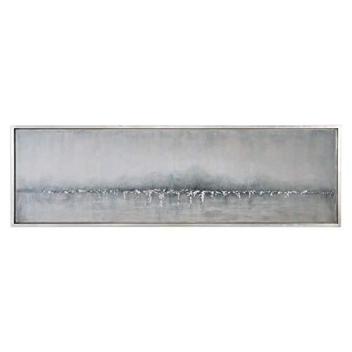Silver Leaf Finish Wall - Uttermost 35347 Tides Edge - 71.38