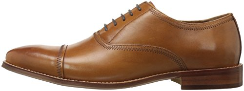 Steve Madden Men's Marky Oxford, Tan Leather, 12 M US