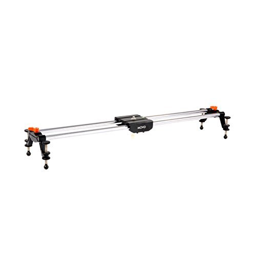 Movo Photo BST80 31' Rail Camera Track Slider With Linear Bearing Sliding Platform with Carrying Case