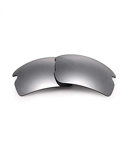 XDXART Polarized Replacement Lenses for Oakley Flak 2.0 (OO9295) (Silver), ()