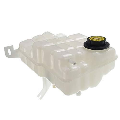 A-Premium Coolant Expansion Tank with Cap for Buick Roadmaster Cadillac Fleetwood Chevrolet Caprice Impala 1994-1996 Front