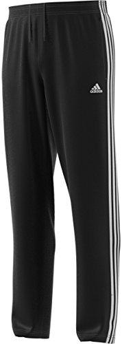 adidas Men's Athletics Essential Wind Pants, Black/White, 3X-Large Adidas 3 Stripes Wind Pant