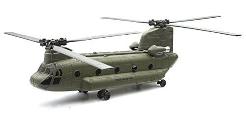Boeing CH-47 Chinook Helicopter Model Kit by Newray (Assembly Required)