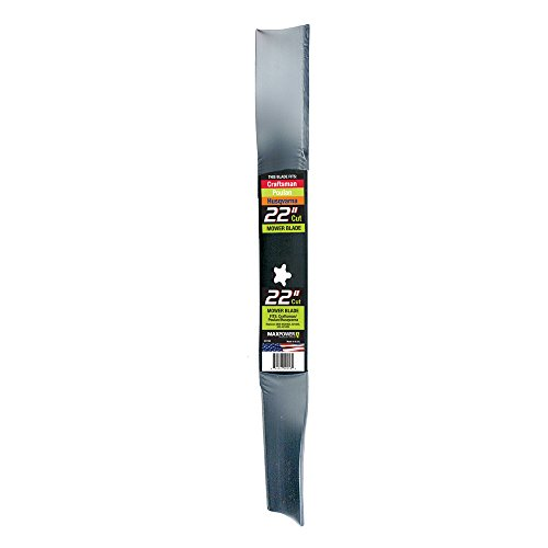 MaxPower 331740S Mower Blade for 22 Inch Cut Poulan/Husqvarna/Craftsman Replaces 420463, 421825, 437601, 532420463, 532421825, 532437601 (Best Wide Cut Lawn Mowers)