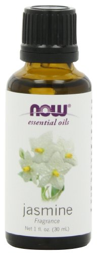 NOW Foods Jasmine Oil, 1 ounce (Pack of 2)
