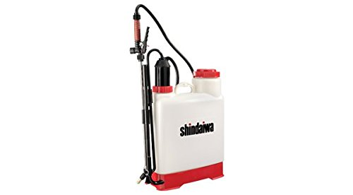 SP53BPE - Shindaiwa Backpack Sprayer - 5 Gallon - Viton Seals - 4 Stage Filters ()