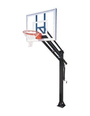 First Team Force Ultra steel-glass in ground調整可能バスケットボールsystem44、フォレストグリーン B01HC0BHN4