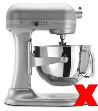SideSwipe flex edge beater for KitchenAid Tilt-Head Mixers, in Red by SideSwipe (Image #6)