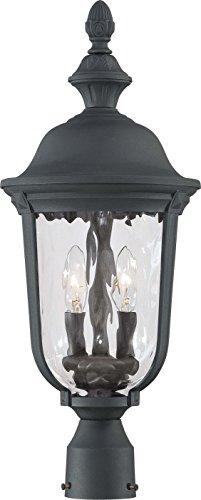 Minka Lavery Outdoor Post Lights 8995-66, Ardmore Cast Aluminum Exterior Lighting Fixture, 120w, ()