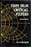 Thin-Film Optical Filters, , 0852747845