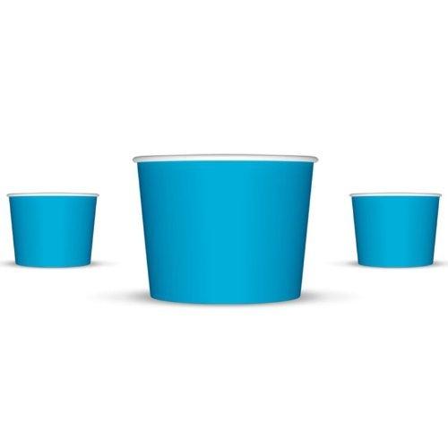 ice cream bowls blue - 2
