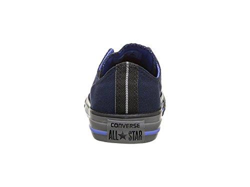 Converse Kids Chuck Taylor All Star OX (Little Big) Obsidian/Oxygen Blue/Thunder