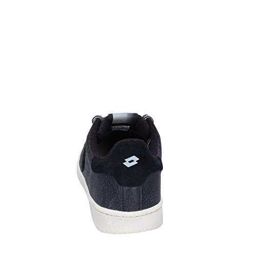 Lotto Zapatillas Negro Cuero De Deporte Hombre UBrRdBqan