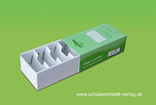 Clever Lernbox: Pappe, einzeln aufgebaut