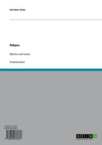 D0WNL0AD & READ FREE Ödipus. Mythos und Inzest (German