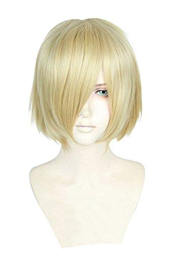 (Cfalaicos Yuri!!! on Ice Yuri Plisetsky Cosplay Wig Synthetic Hair Anime Cos)