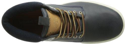 Timberland Ekcupsl Chukka - Zapatillas de Deporte de cuero hombre Azul (Navy Oiled)