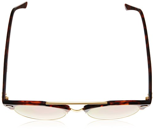 Sonnenbrille Rouge Copper Red Ray Ban Bridge Shiny Double 4346 Clubround RB g45qw4FH