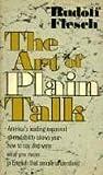 Art of Plain Talk, Rudolf Flesch, 0020463804