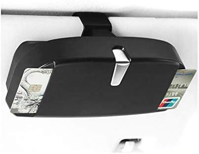 Black CDEFG Universal Sunglasses Case for Car Glasses Holder Case Eye Glasses Organizer for Car