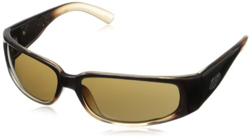 Black Flys Micro Fly Sunglasses (Black Flys Micro Fly 2 Wrap Sunglasses,Carmel,60 mm)