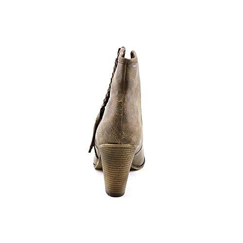 Taglia Americana Donna Allye Ragno 8.5 Stivali Western In Ecopelle Marrone
