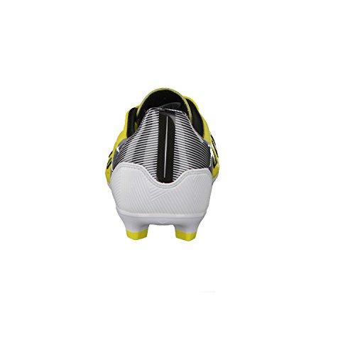 adidas F30 TRX FG Leder gelb-schwarz